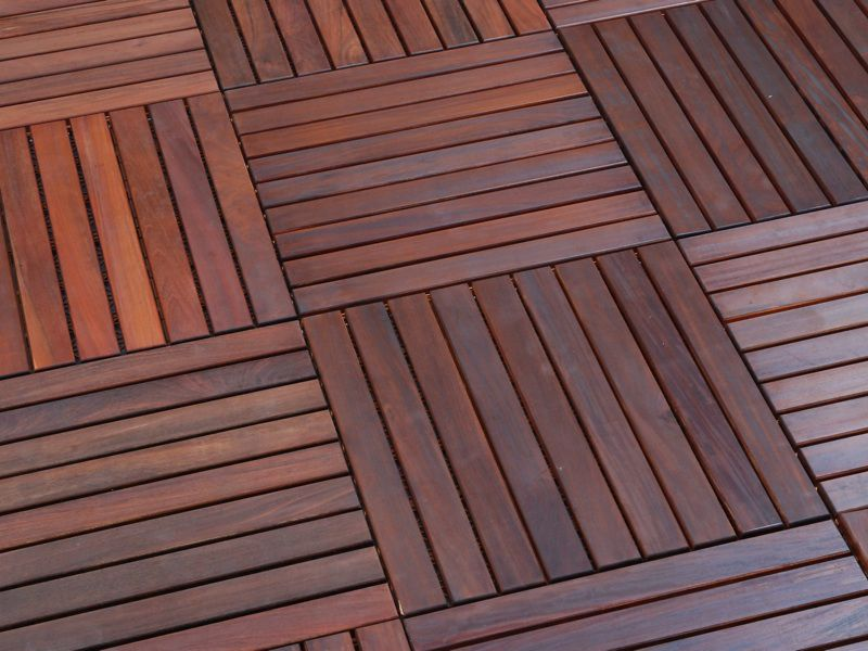 Wood flooring for your outdoors for Hardwood outdoor decking